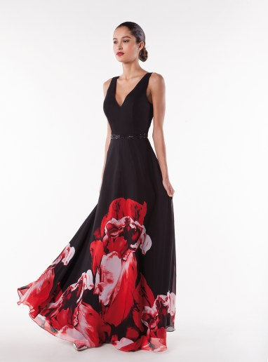 NY3019 BLACK RED