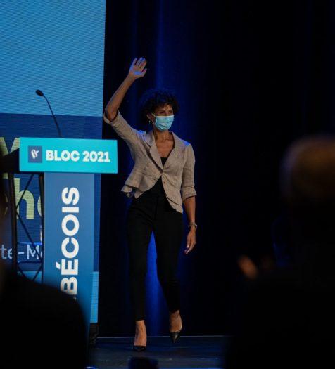 Marie-Eve-Lyne Michel, Candidate du Bloc Québécois dans Laurier-Sainte-Marie