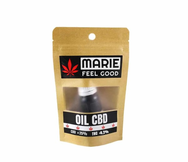 Oil CBD Package Front