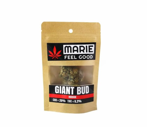 Giant Bud Package Front