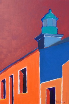 Petit phare de la rue des mariés - 40x60