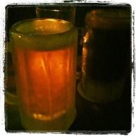 Frosty mug of cider. YUM
