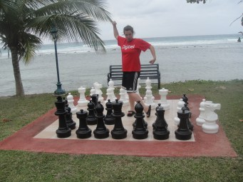 Beachside giant Chess