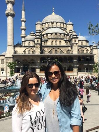 Istanbul with Sanja