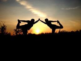 85. Een les yoga volgen