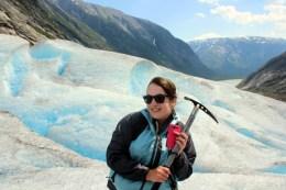 Een gletsjerwandeling maken