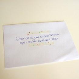 119. Schrijf een brief aan jezelf voor over 5 jaar