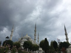 The imposing Blue Mosque
