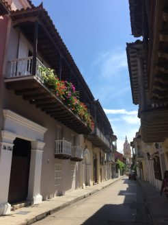 Cartagena - beautiful street