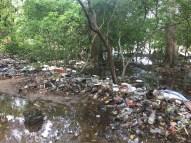 Trash in Playa Blanca