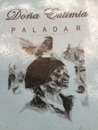 Menu at Doña Eutimia