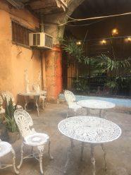 A relaxing patio