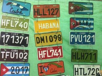 Souvenir nameplates