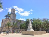 Statue commemorating José Martí
