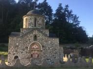 An orthodox church close to Bran Castle