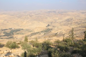 Views from above Mount Nebo