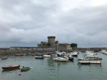 Socoa port
