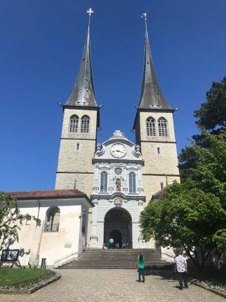 Hofkirche - Lucerne