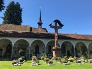 Italian-style cemetery in Hofkirche - Lucerne