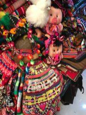 Cute Bolivian dolls - Mercado de la Cancha