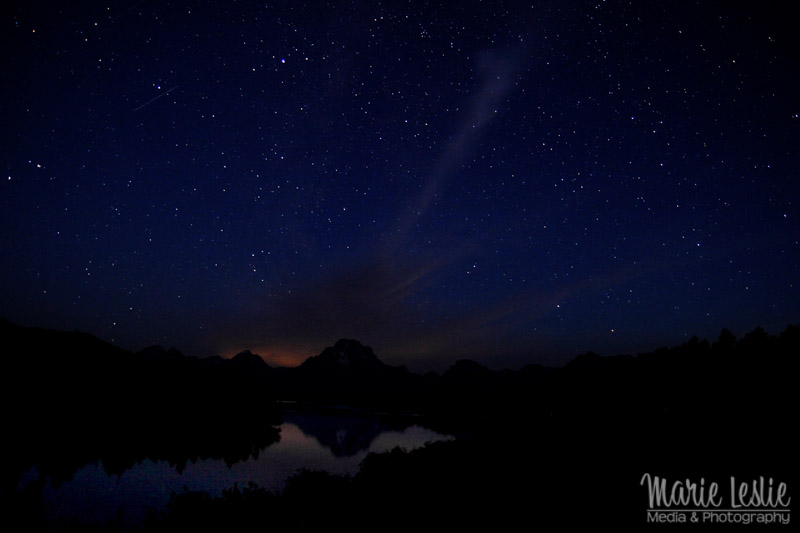 oxbow bend grand teton national park astrophotography, star photography