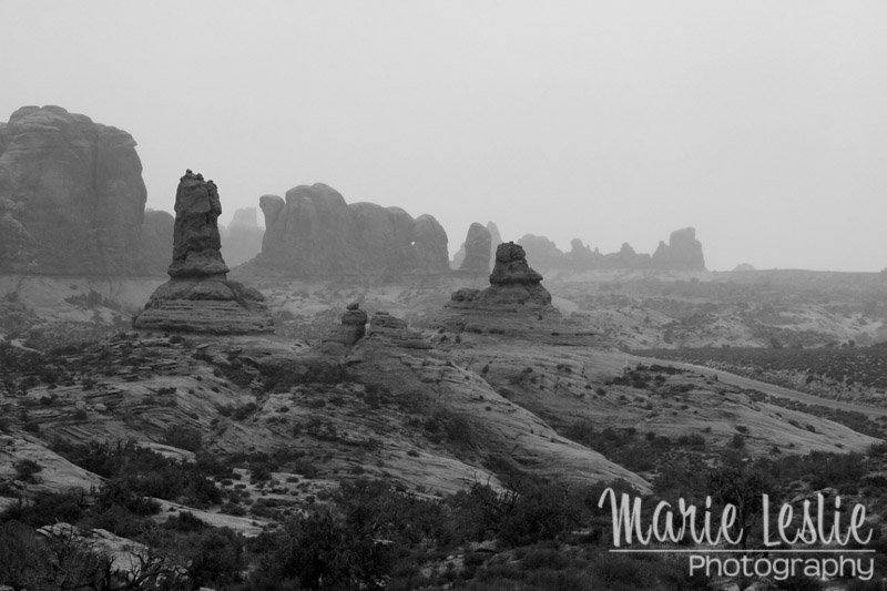 Stormy Morning at Arches