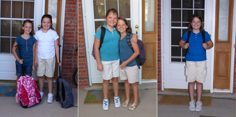 first day of school pictures 1