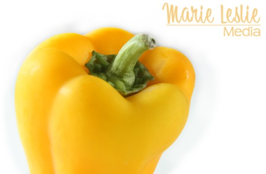 denver food photographer, food photography, bell pepper