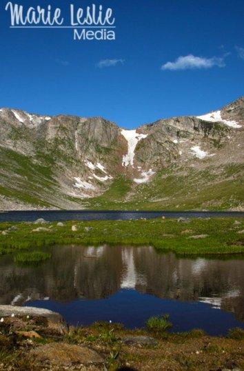 SUmmit Lake, Mt. Evans Colorado Rocky Mountains