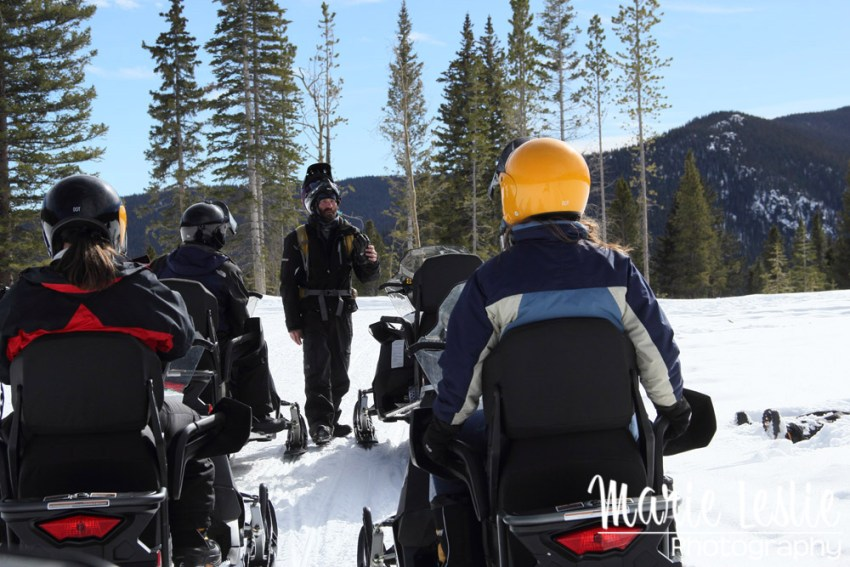 Snowmobile Instruction