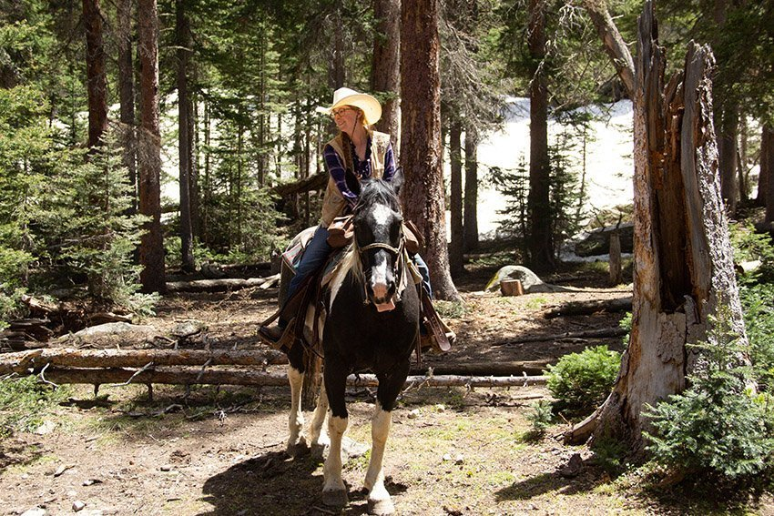 Our trail guide from Hi Country Stables