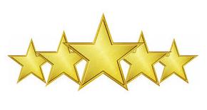Bildresultat för 5 stjärnor
