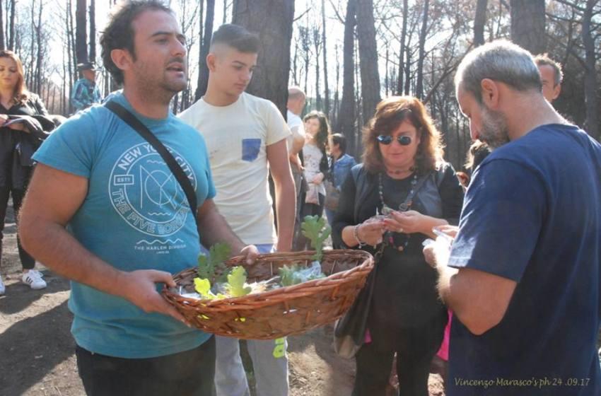 Domenica dedicata al Vesuvio e all'ambiente: adulti e bambini insieme per pulire le pinete.
