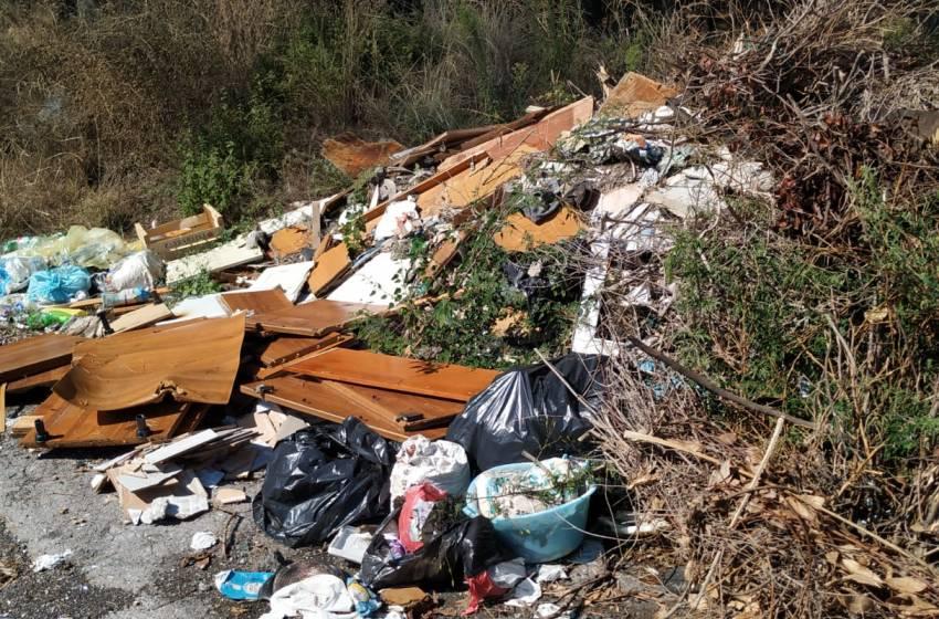 Aggirano le telecamere e abbandonano i rifiuti nel Parco Vesuvio ripulito dai volontari.