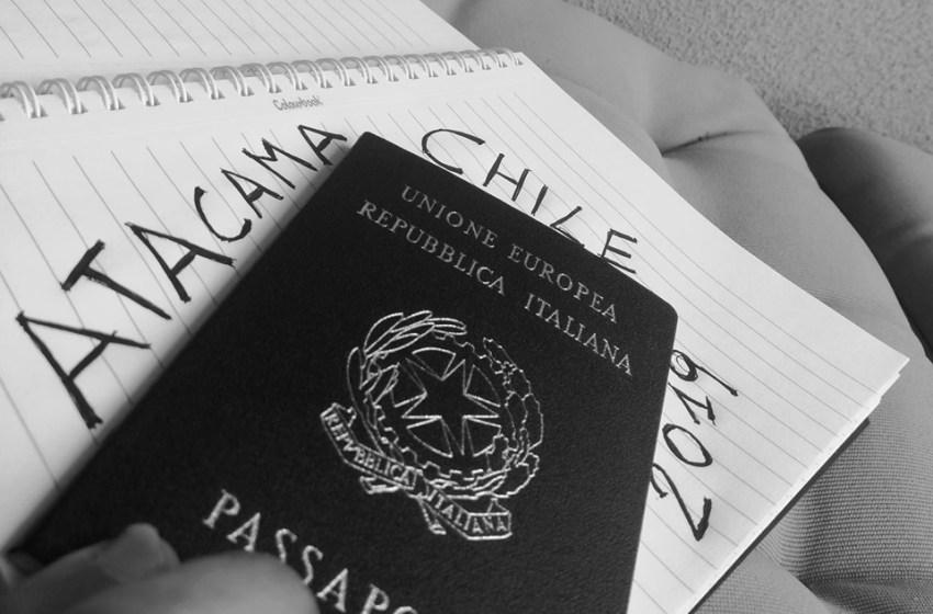 Avventura Atacama. Mancano otto giorni alla partenza. Inizia il conto alla rovescia.