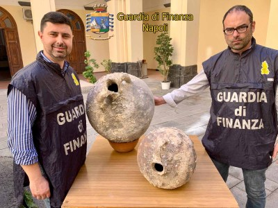anfore-trafugate-sequestrate-imprenditore-torre-del-greco-mariella-romano-cronaca-e-dintorni