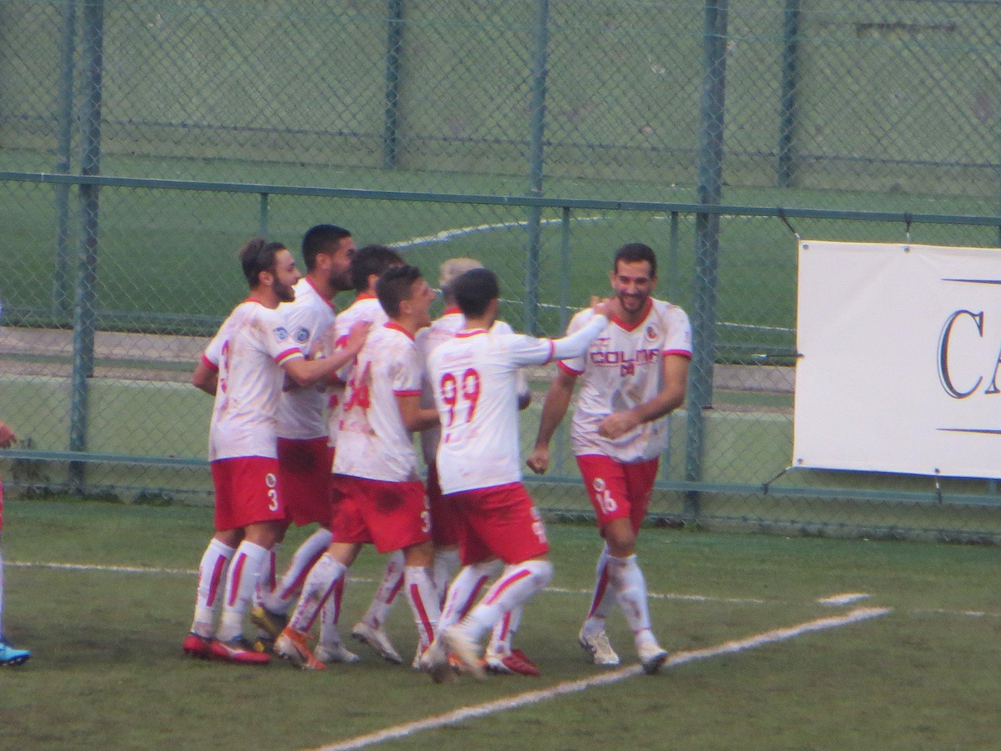 """Di Nunzio, il difensore goleador: """"Una vittoria importante, continuiamo su questa strada"""""""