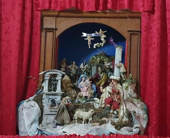 Trafugata la Natività dal presepe della chiesa di San Michele: ritrovato solo il bambinello