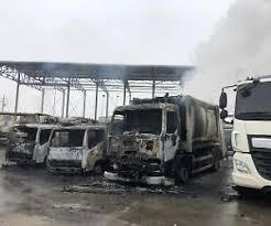 Fiamme in un deposito della Buttol: 23 camion distrutti a San Severo – I video