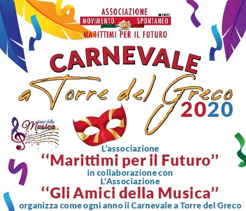 Coriandoli, mascherine e musica al Carnevale di Marittimi per il Futuro e Amici della Musica