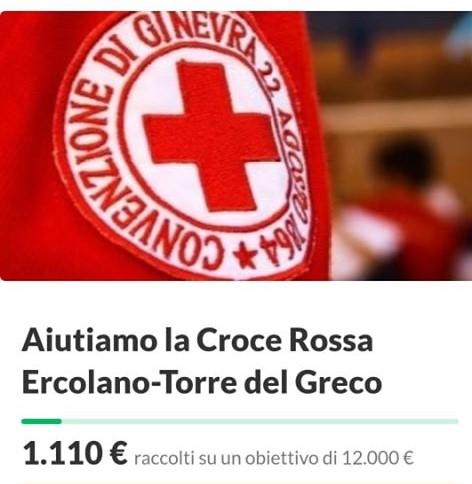 Torre del Greco solidale: 1100 euro raccolti e donati alla Croce Rossa in sette giorni