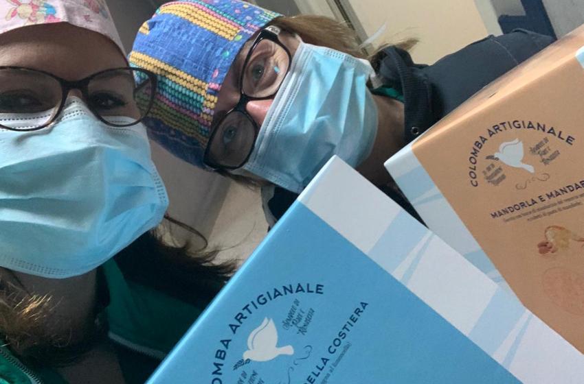 Covid19, la pasticceria Mennella rende la Pasqua più dolce a medici, infermieri e orfani