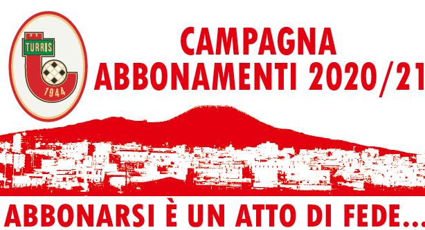 Turris, campagna abbonamenti 2020-2021: si parte il primo settembre