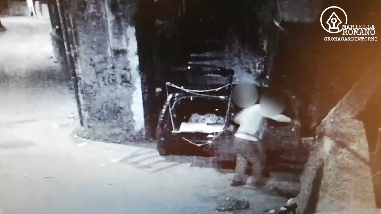 Macchina a noleggio e targa bulgara per scaricare rifiuti e sfuggire ai controlli – Video