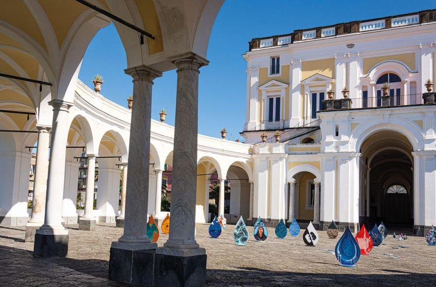 Gori celebra la giornata mondiale dell'acqua con una mostra a villa Campolieto – Video