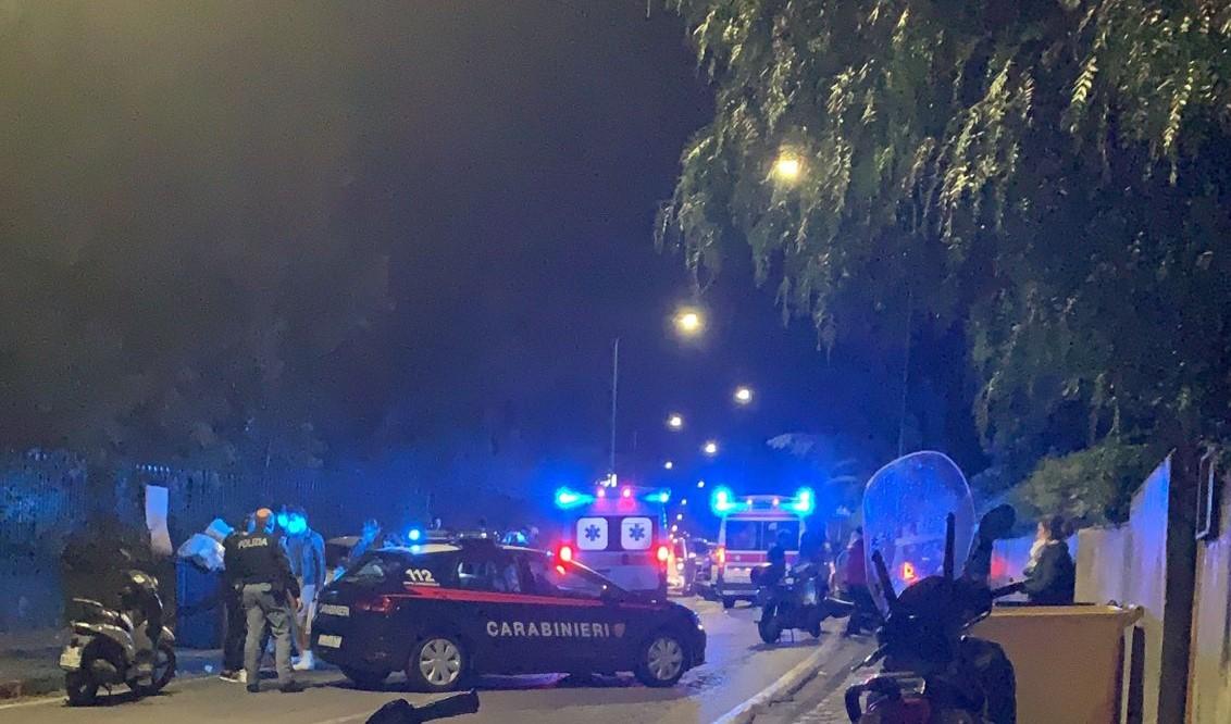 Impatto tra due auto e una moto: grave un trentenne. Indagano i carabinieri