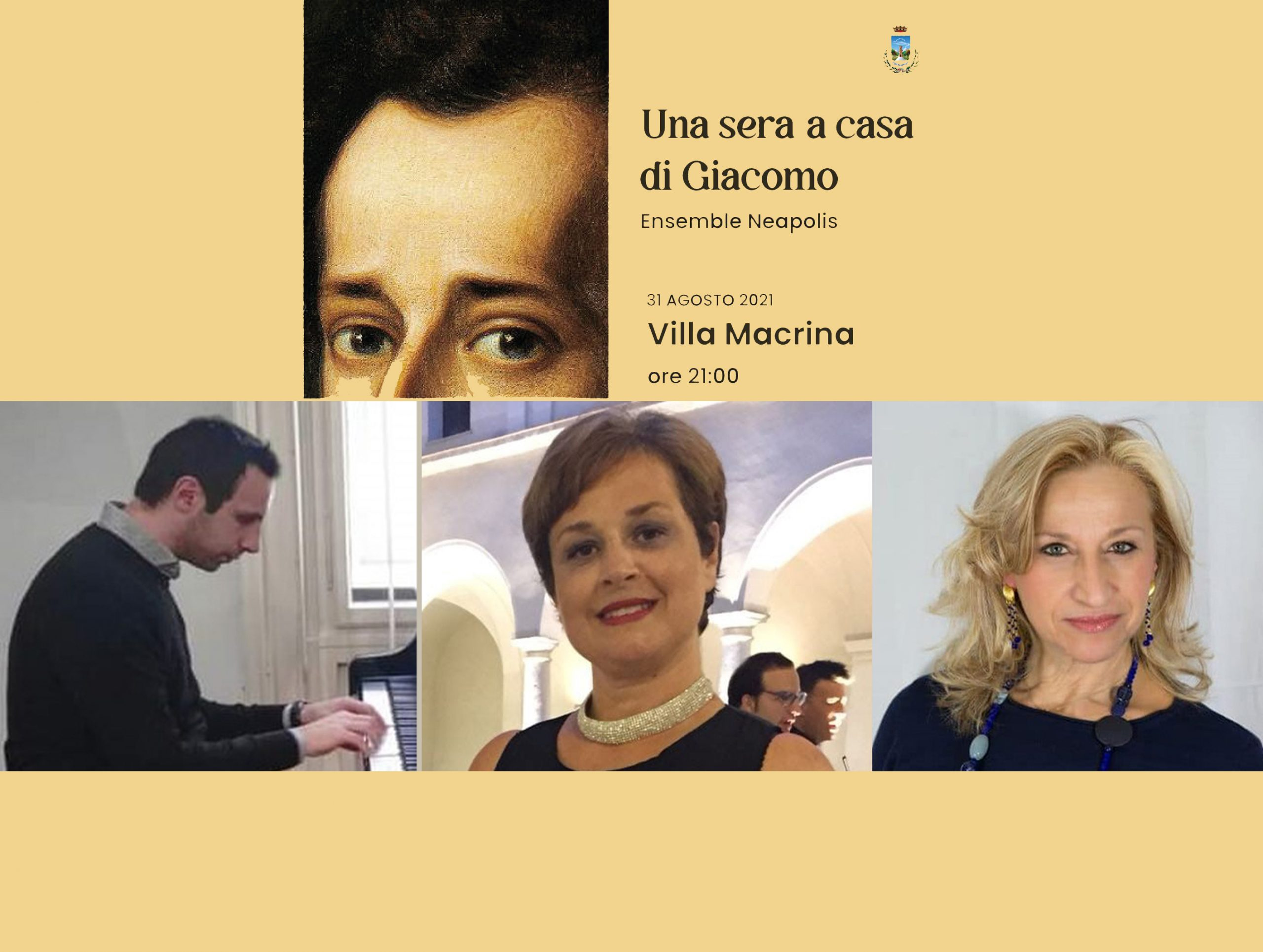 A casa di Giacomo: serata di canto, musica e poesia con il trio Ensamble Neapolis