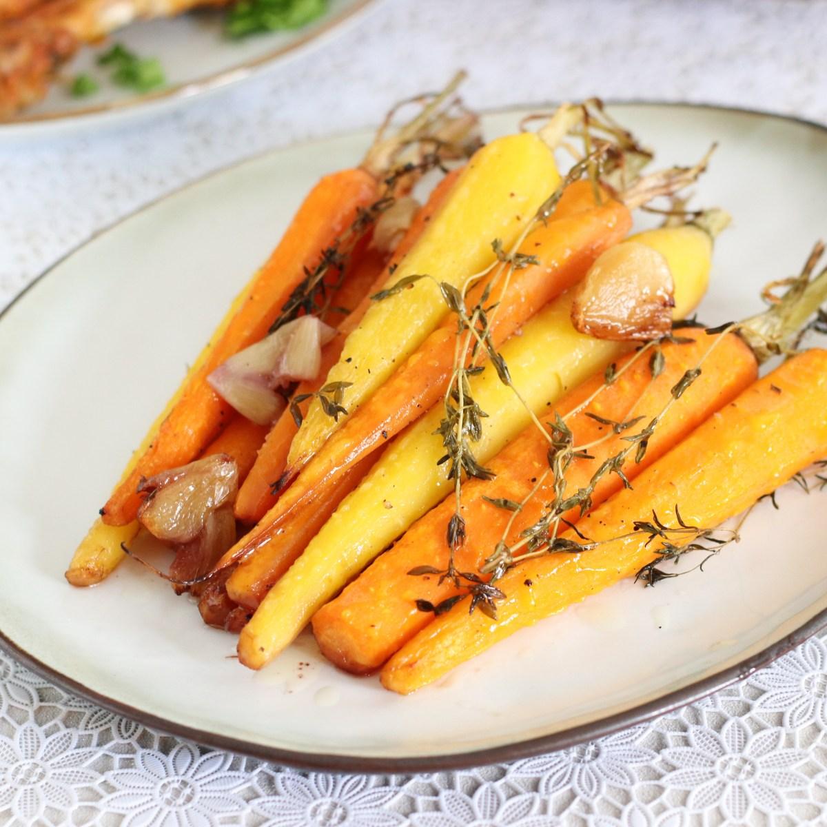 Gekleurde wortels