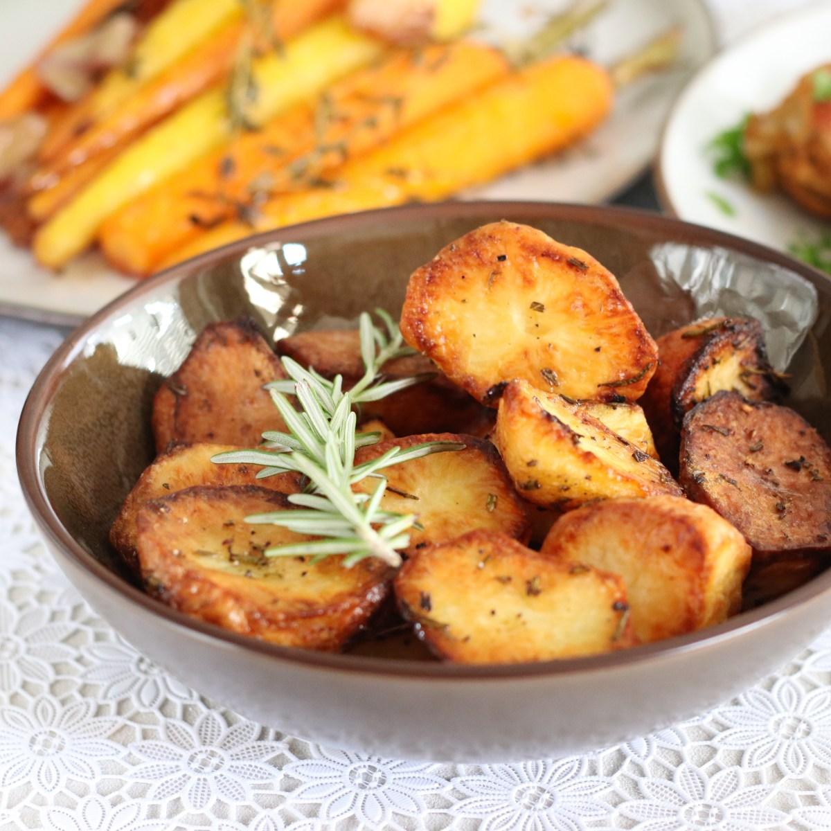 Geroosterde aardappels