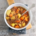 Poor man's stew slowcooker recept
